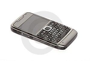 Mobile Phone On White Background Stock Photo - Image: 8230010