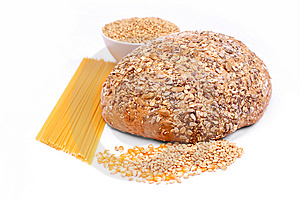 Fresh Bread And Wheat Royalty Free Stock Image - Image: 8230196