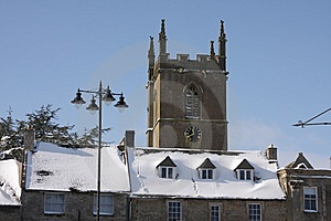 St Edwards Church, Stow On The Wold Stock Image - Image: 8230211
