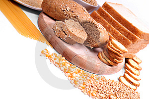 Fresh Bread And Wheat Royalty Free Stock Photography - Image: 8230557