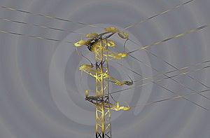 Mast High Voltage Stock Photos - Image: 8230573