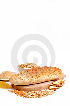 Fresh Bread And Wheat Royalty Free Stock Photos - Image: 8230678