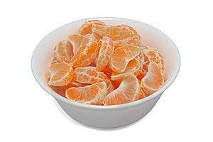 Mandarine Dessert Stock Image - Image: 8231571