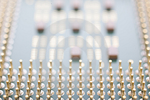 Macro CPU Stock Images - Image: 8236094