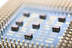Macro CPU Royalty Free Stock Photos - Image: 8236248