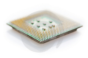 Macro CPU Royalty Free Stock Images - Image: 8236479