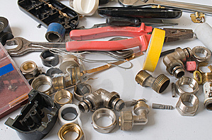 Tools Metalwork And Hardware. Stock Image - Image: 8236551