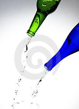 Bottles Royalty Free Stock Photo - Image: 8237405