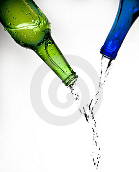 Bottles Royalty Free Stock Image - Image: 8237546