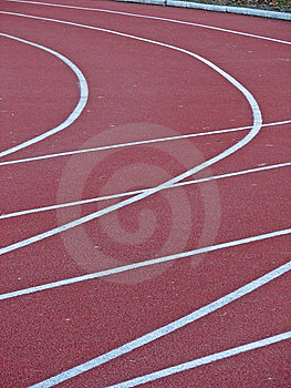Race Tracks Stock Photo - Image: 8237550