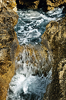 Water Flow Stock Photo - Image: 8237960