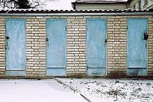 Locked Doors Royalty Free Stock Photo - Image: 8239155