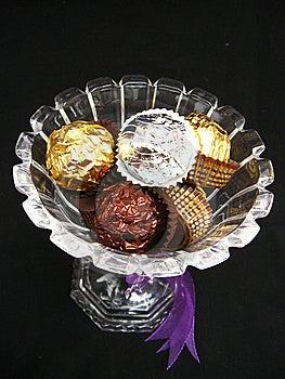 GIft Of Chocolates Royalty Free Stock Image - Image: 8239946