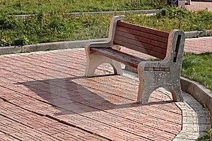 Bänkträdgård Royaltyfri Bild - Bild: 8240446
