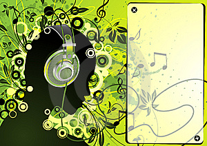 Youthful Advert Vector Royalty Free Stock Images - Image: 8241369