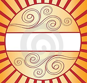 Golden Banner Royalty Free Stock Image - Image: 8241456