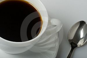 Cup Of Coffee Royalty Free Stock Images - Image: 8242149