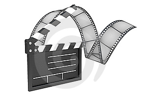 Film Industry, Conception Royalty Free Stock Photography - Image: 8242717