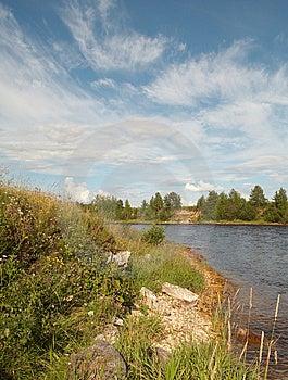 Onega River In Summer Season Stock Photos - Image: 8242953