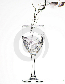 Glasses With Water Stock Photo - Image: 8243030