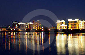 City Night Stock Photography - Image: 8243532