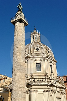 在广场罗马venezia附近 图库摄影 - 图片: 8243952