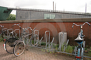 Bicycle Parking Stock Photo - Image: 8243980