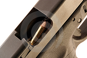 Chambered Bullet Royalty Free Stock Photos - Image: 8244368