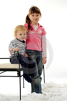 Brother And Sister Royalty Free Stock Photography - Image: 8246257