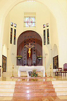 Puerto Plata Small Town Church 2 Royalty Free Stock Photography - Image: 8246697