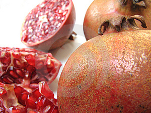 Pomegranates Royalty Free Stock Image - Image: 8247276