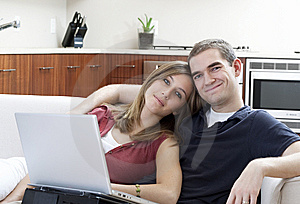 Modern Couple Royalty Free Stock Image - Image: 8247996