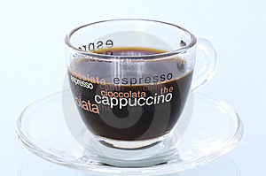 Espresso Cup Of Coffee Royalty Free Stock Images - Image: 8249019