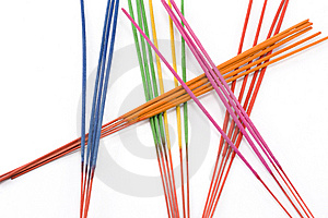 Aromatic Colour Sticks Stock Image - Image: 8249231
