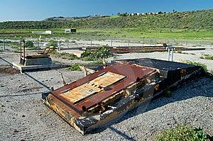 Abandoned Missle Silo Royalty Free Stock Image - Image: 8249946