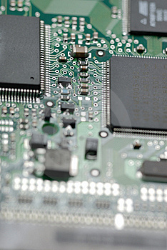 Circuit Board Stock Photo - Image: 8249950