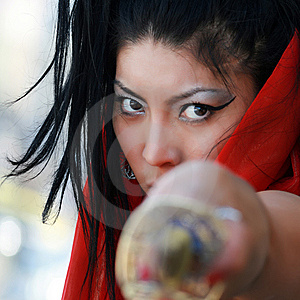 Parrying Royalty Free Stock Photos - Image: 8249988