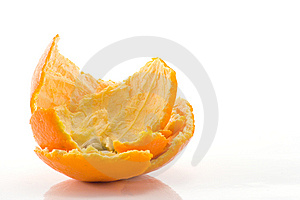 Orange Peel Stock Photo - Image: 8250140