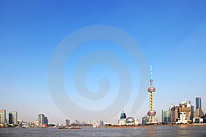 Shanghai Building Sign Royalty Free Stock Images - Image: 8250229