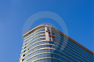 Finishing Works On Building Construction Royalty Free Stock Images - Image: 8250759