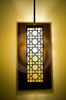 Decoratieve Lampschaduw Stock Fotografie - Afbeelding: 8251172