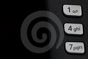 Phone Keyboard Closeup Royalty Free Stock Photos - Image: 8252198