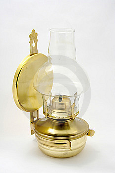 Old Petroleum Lamp Stock Photography - Image: 8252722