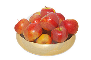Basket Of Apples Stock Photography - Image: 8252772