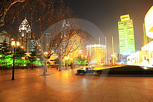 The Night View Of City Royalty Free Stock Image - Image: 8253966