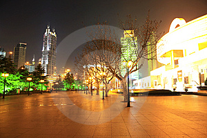 The Night View Of City Royalty Free Stock Photo - Image: 8254005