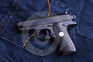Pistol Royalty Free Stock Images - Image: 8254529