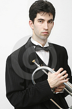 Trumpet Player Stock Images - Image: 8255794