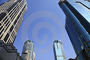 Modern Buildings Royalty Free Stock Photo - Image: 8255865