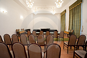 Empty Small Concert Room Royalty Free Stock Photos - Image: 8257058